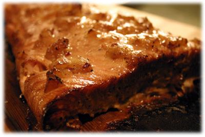 best salmon on cedar plank with jack daniels marinade