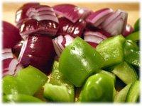 veggies for kebabs