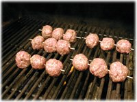 how to cook meatballs on the grill