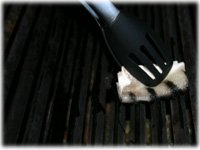 how to oil bbq grates