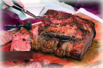 Grilled Prime Rib Beef