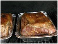 pork butt on gas grill
