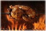 chicken rotisserie picture