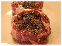 beef tenderloin seasoned