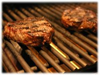 grilling beef fiets