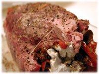 tied beef tenderloin