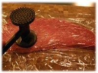 flatten flank steak