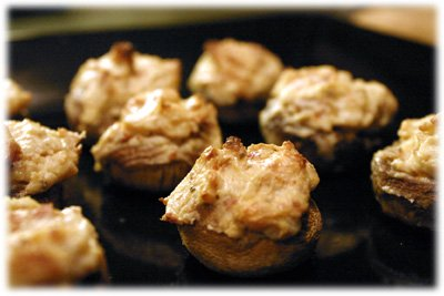grilled stuffed mushrooms recipe