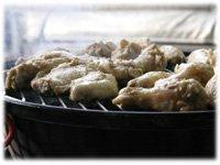 barbeque teriyaki chicken wings