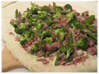 make a veggie pizza
