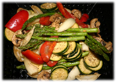mixed grilled vegetable recipe
